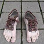 داستان کفش یا پا