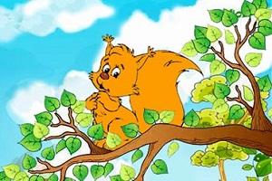 داستان جالب نینی و سنجاب کوچولو