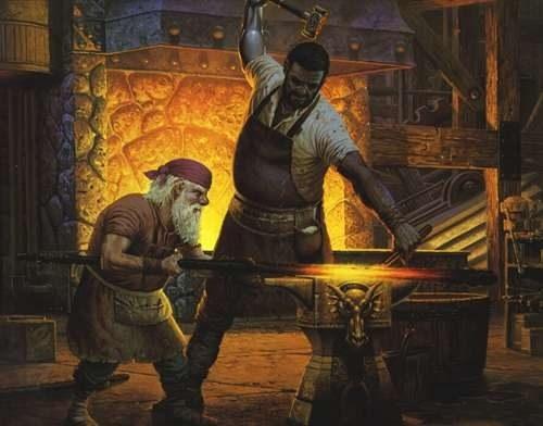داستان بدن نیمه فلج مرد آهنگر