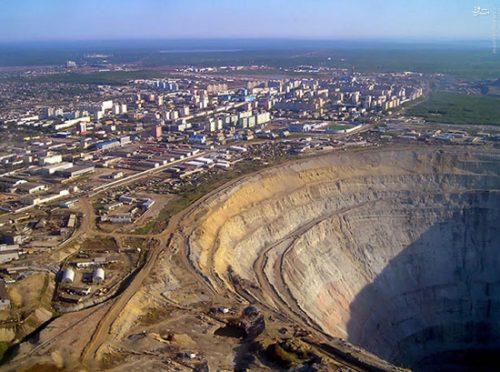 داستان معدن الماس