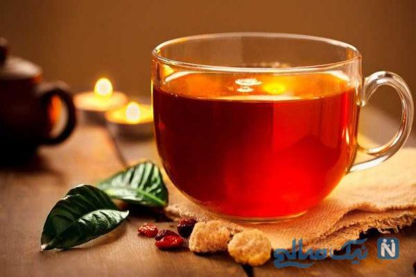 مضرات زیاد چای خوردن