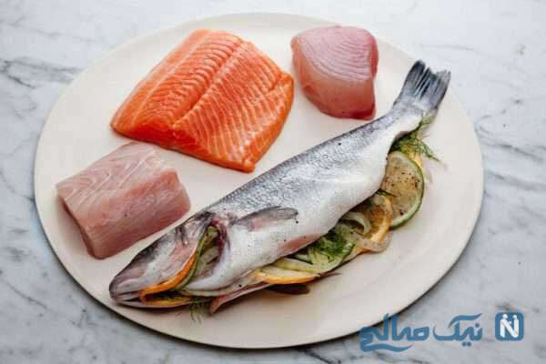 ماهی حاوی مکمل های طبیعی
