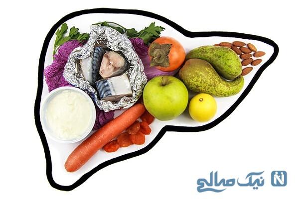 طبع کبد و غذاهای مفید برای آن