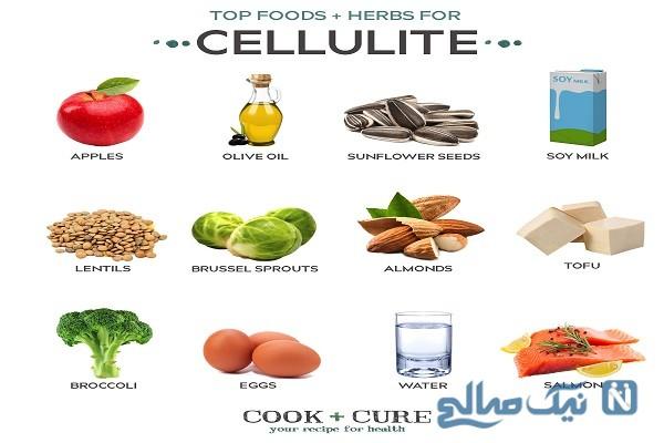 از بین بردن سلولیت (تجمع چربی ناحیه ای) با این مواد