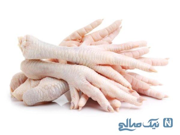خواص درمانی پای مرغ