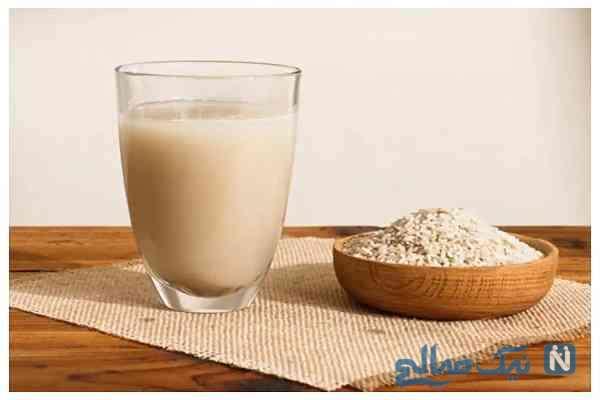 پوستی زیبا با شیر برنج