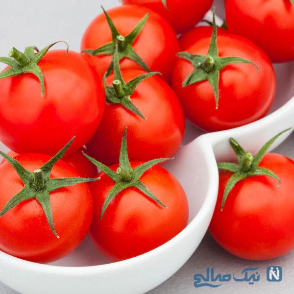 خواص گوجه فرنگی پخته برای قلب!