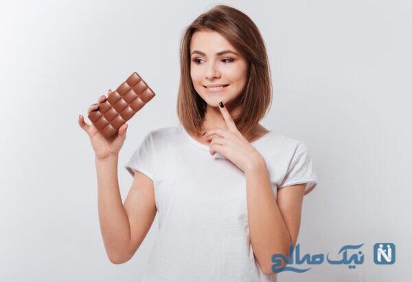 شکلات تلخ برای زنان باردار