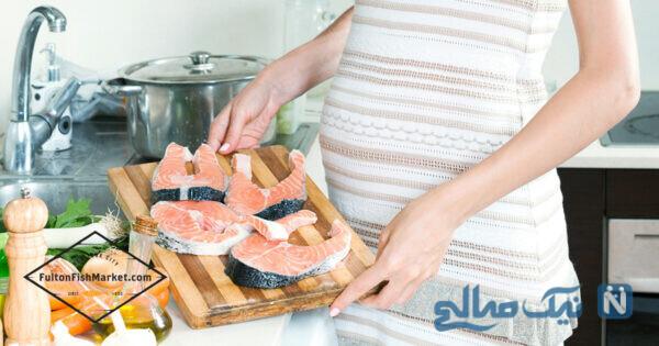 مصرف ماهی در بارداری