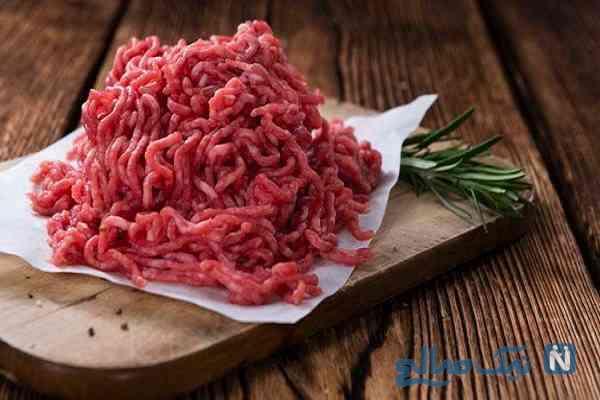گوشت چرخ کرده را در فریزر نگهداری نکنید!