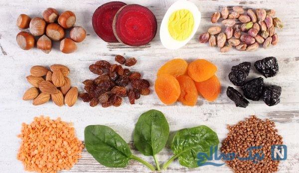 موادغذایی برای رفع کم خونی
