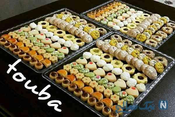کالری شیرینی های نوروزی چقدره؟
