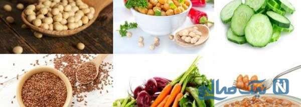 غذاهای حاوی استروژن