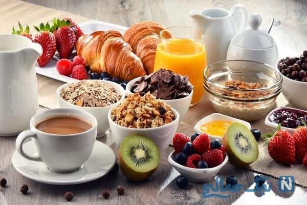 برای صبحانه چه مواد غذایی بهتر است؟