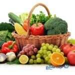 میوه ها و سبزیجات حاوی کلسیم!