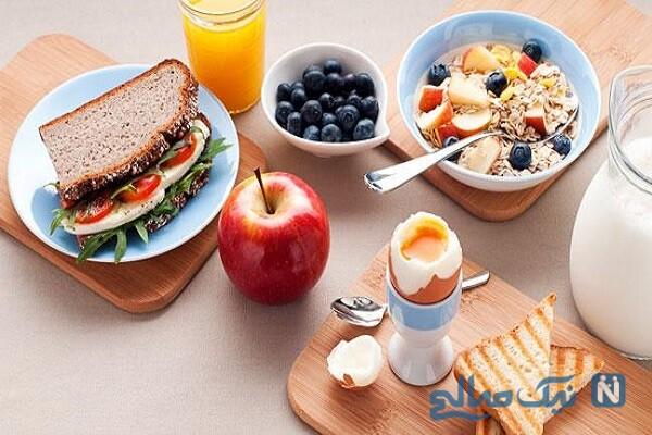 مواد غذایی موثر در صبحانه برای افزایش وزن!