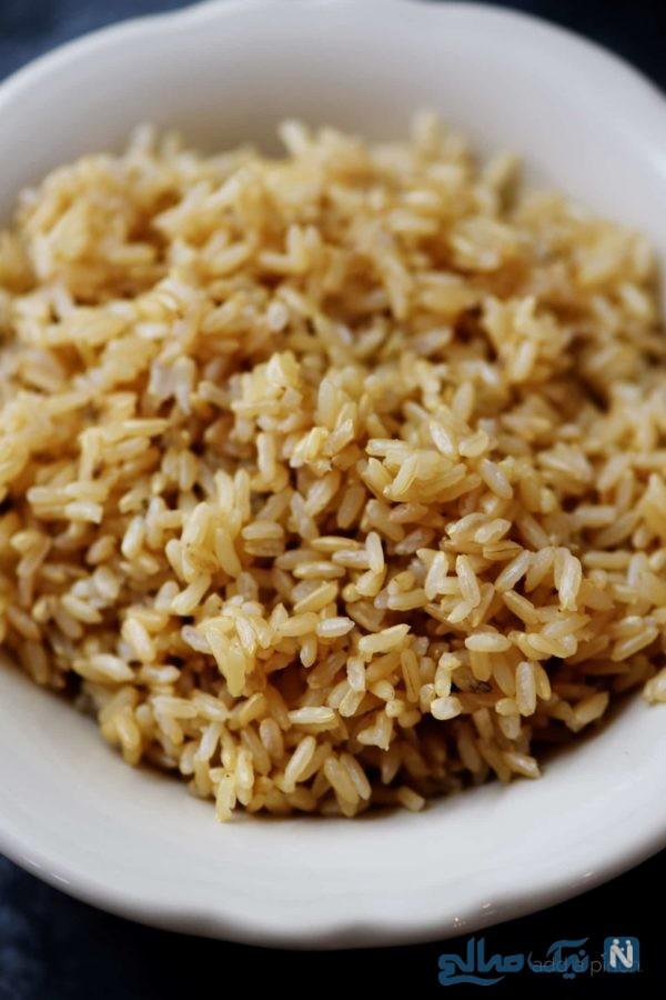 ارزش غذایی برنج قهوه ای