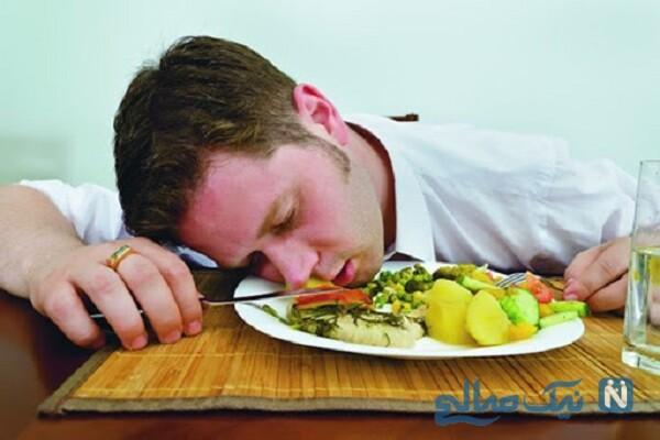 آیآ خوابیدن با شکم پر باعث چاقی و افزایش وزن می شود؟!