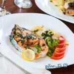ماهی سالمون را با این مواد خوراکی مصرف کنید!