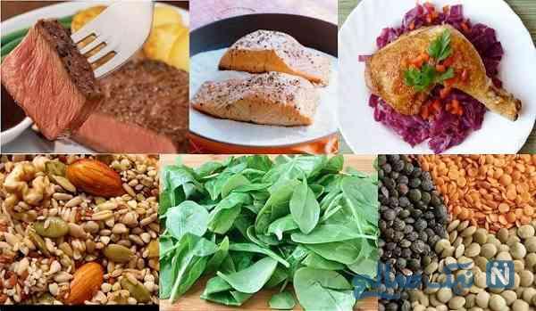 غذا برای کم خونی