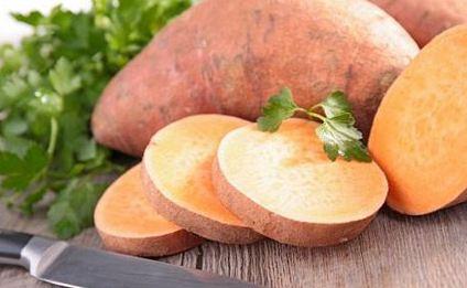 سیبزمینی شیرین و خواصی که برای سلامتی بدن دارد!