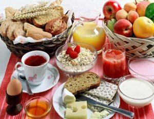 فواید مصرف صبحانه