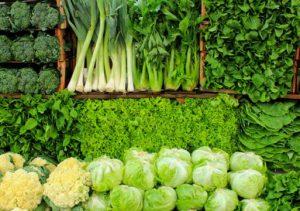 خواص سبزیجات