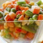 سبزیجات فریز و منجمد شده بهتر است استفاده شود یا سبزی تازه!