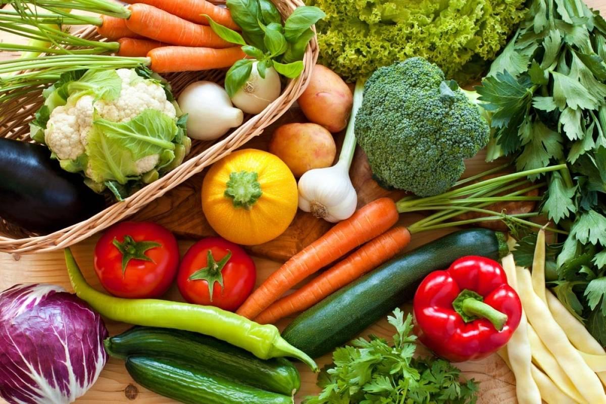 سبزیجات پخته