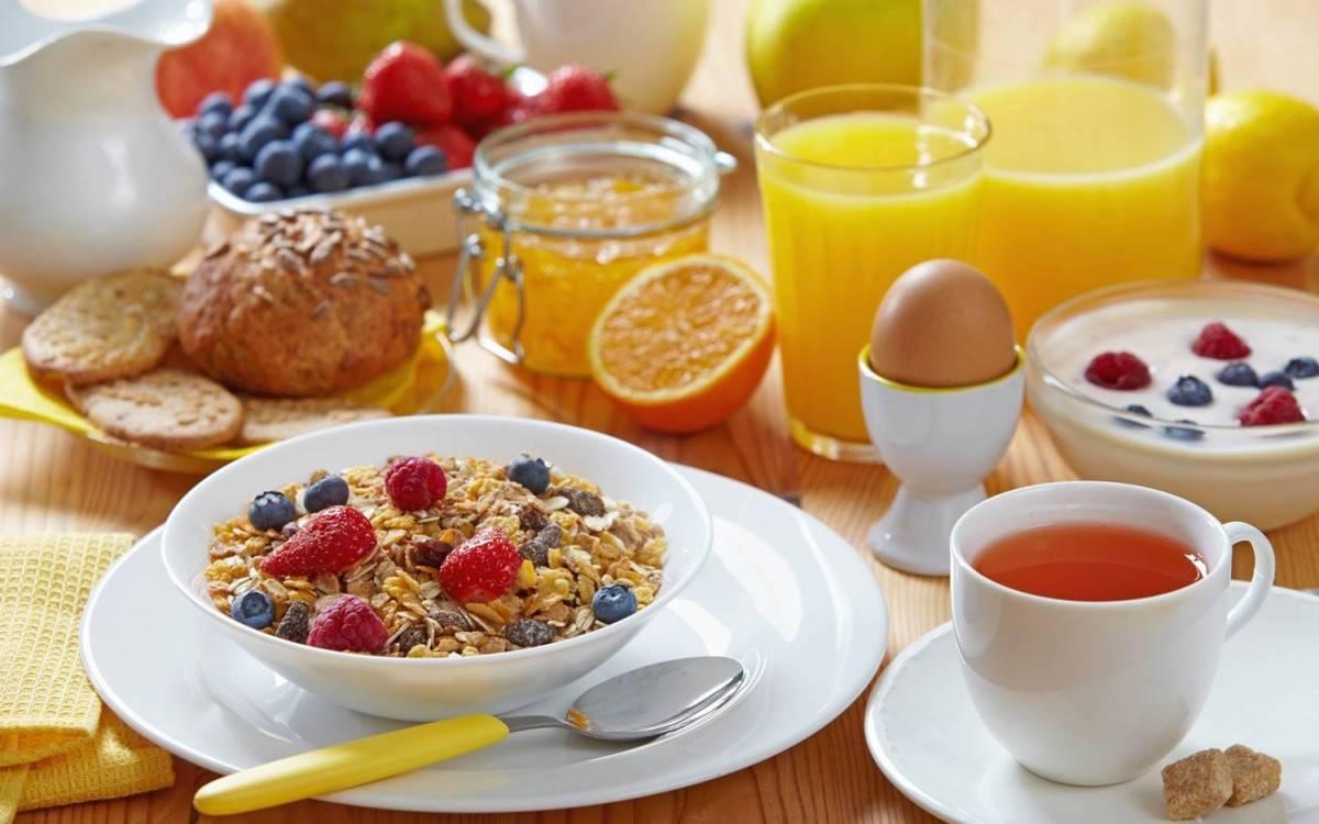 کاهش وزن با صبحانه