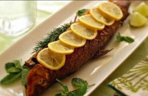 کاهش چربی خون با ماهی قزل آلا