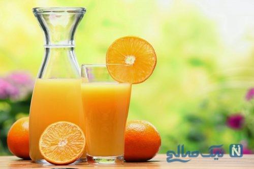 مصرف آب پرتقال