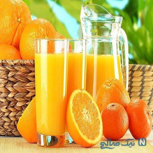 فواید و مضرات مصرف آب پرتقال