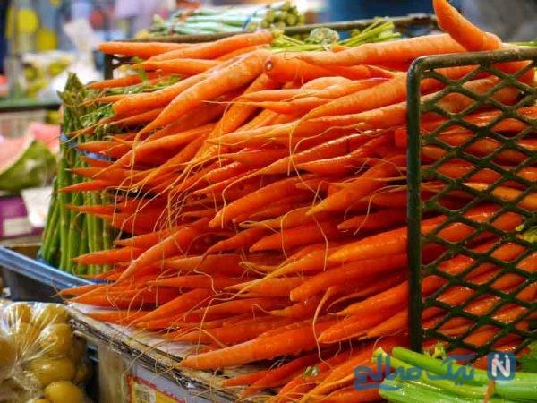 خواص فوق العاده هویج