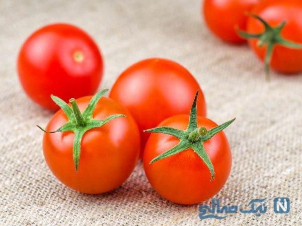 معجزه و خواص گوجه فرنگی برای کبد چرب