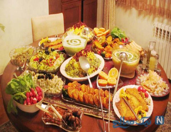 انواع غذاهای مناسب فصل بهار