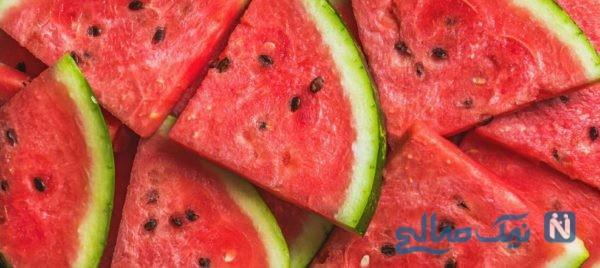 عوارض مصرف بیش از حد هندوانه برای بدن