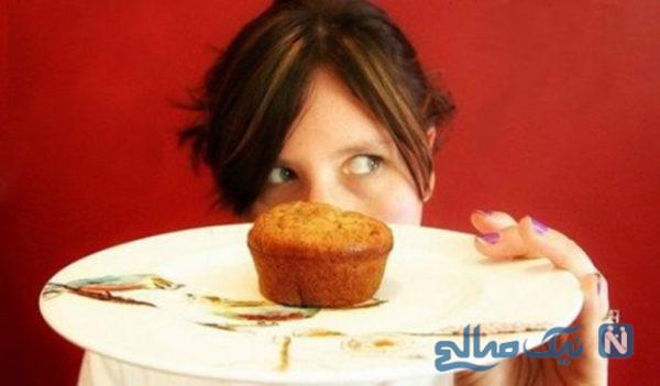 کنترل غذا خوردن