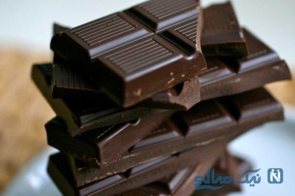 تاثیر شکلات تلخ بر افسردگی