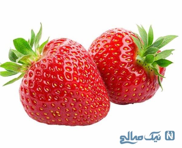 از خواص درمانی توتفرنگی اطلاع دارید؟