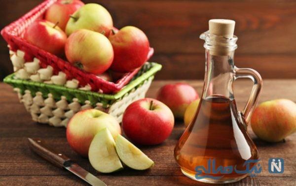 فواید مصرف سرکه سیب