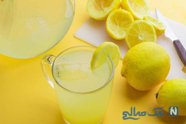 آب گرم و لیمو برای لاغری