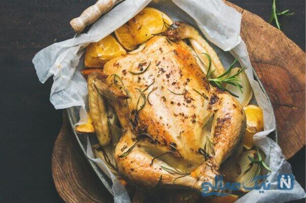 نکات پختن مرغ