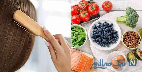 غذاهای تقویت کننده مو