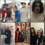 دستگیری داعشی احمق با آرایش زنانه و سبیل پر پشت