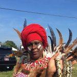 مراسم زن جادوگر با هدف صلح در آمریکا