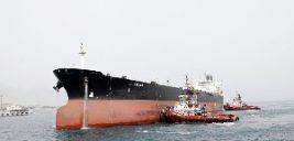 تصادف یک کشتی نفتکش ایرانی قبل از سانچی