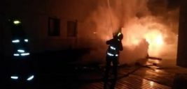 کارخانه ۲ هزار متری آتش گرفت