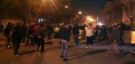 زمان تشییع پیکر شهدای پلیس در اغتشاشات خیابان پاسداران