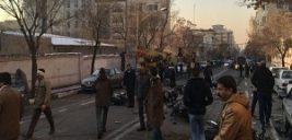 وضعیت خیابان پاسداران بعد از آشوب دراویش اغتشاشگر
